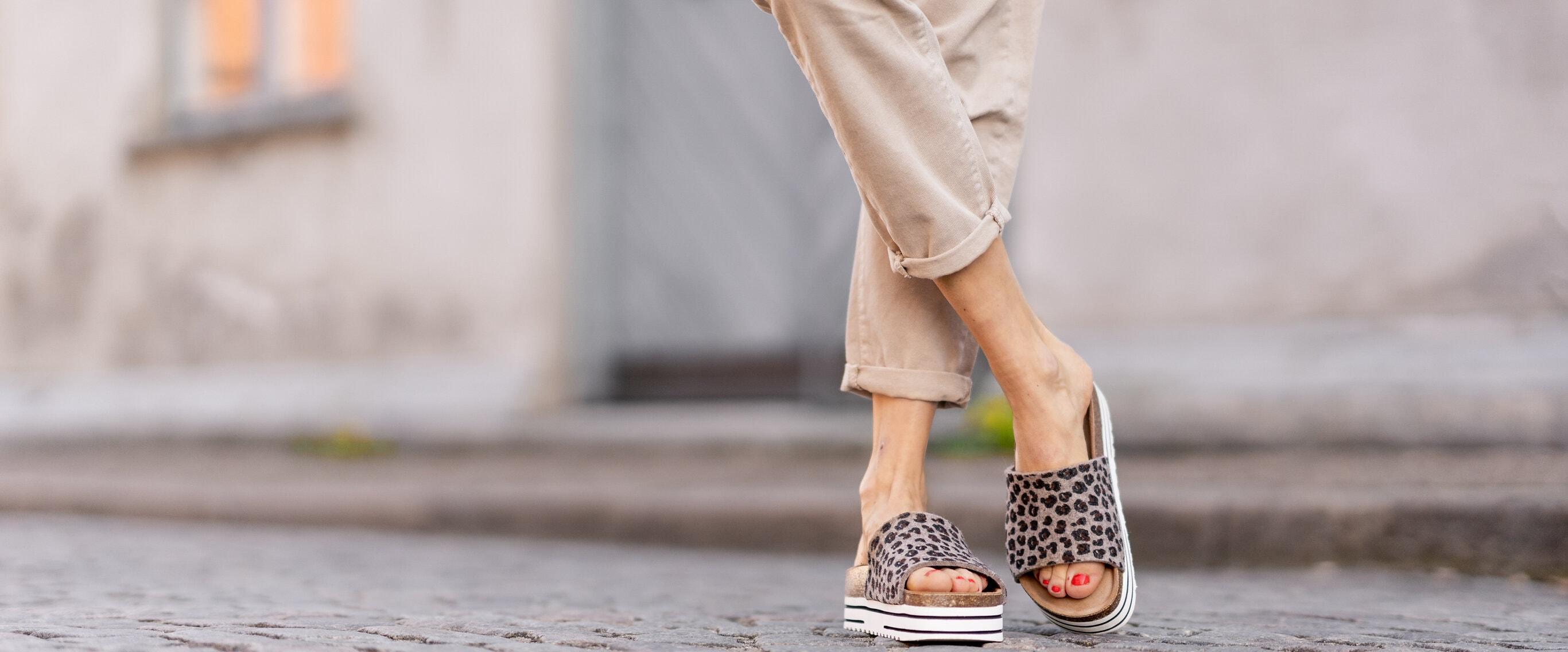Sommarens härligaste sandaler i ull ♥︎