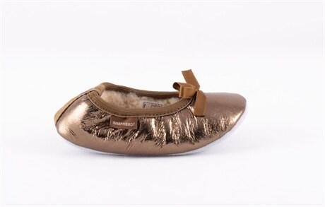 Varberg, ballerina slippers Gold