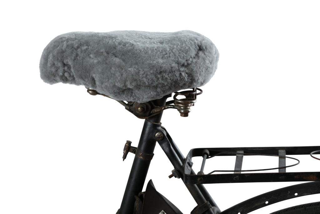 Ebbe, cykelsadelskydd i fårskinn