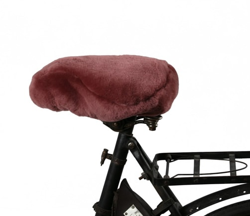 Ebbe, sheepskin bicycle seat cover