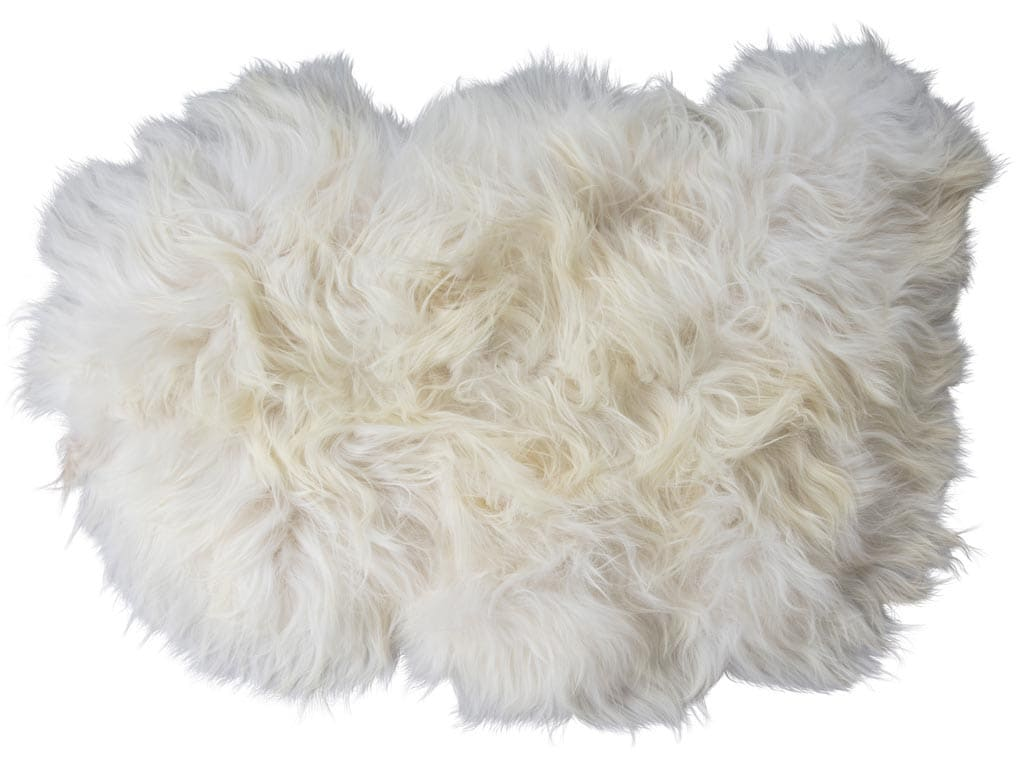 Torshavn a long-haired sheepskin 100x60cm