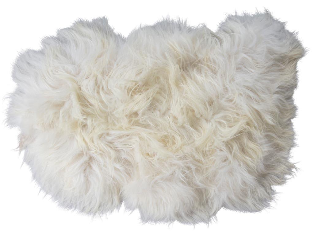 Torshavn a long-haired sheepskin 100x60cm
