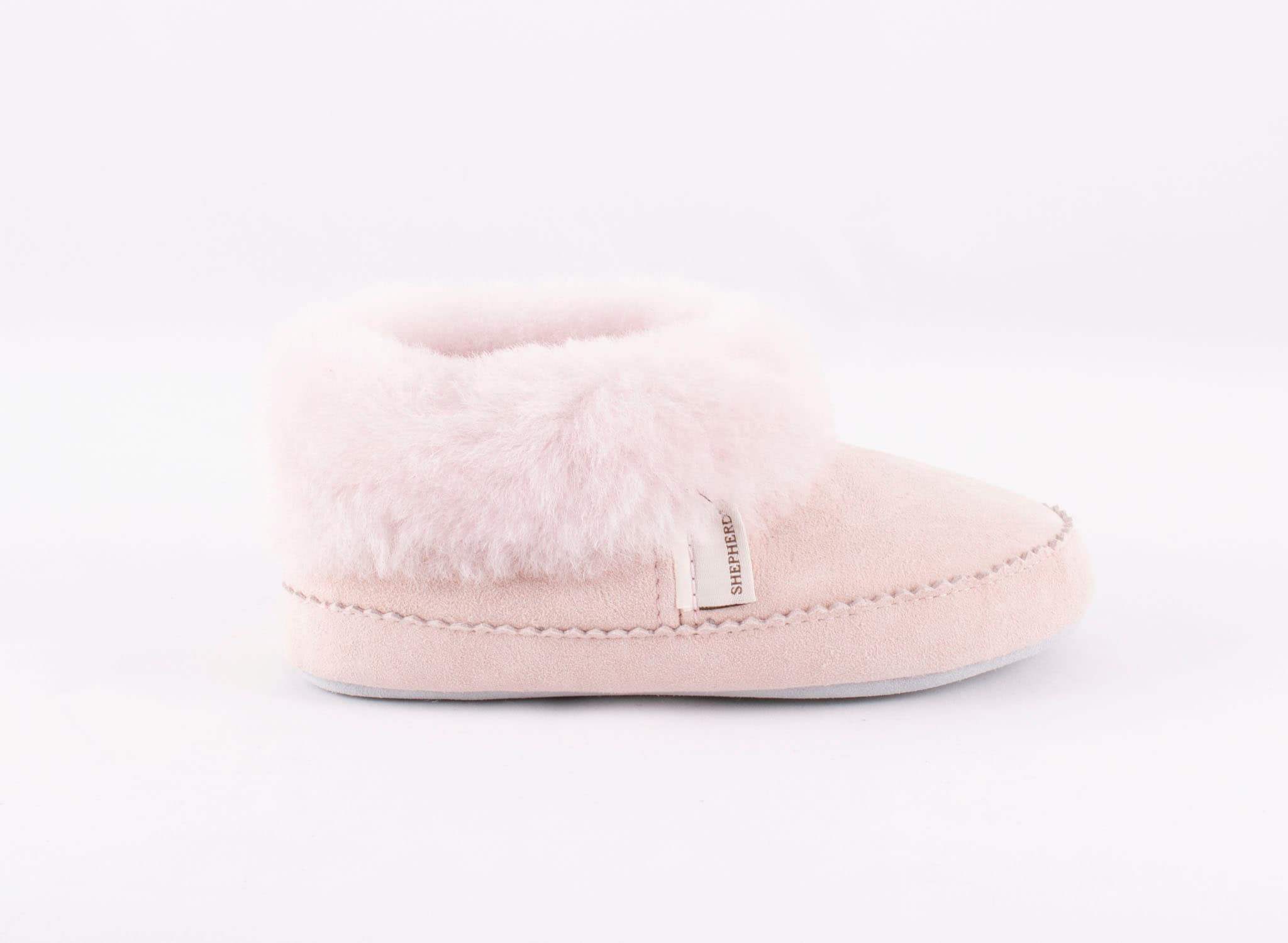 Piteå sheepskin slippers Pink