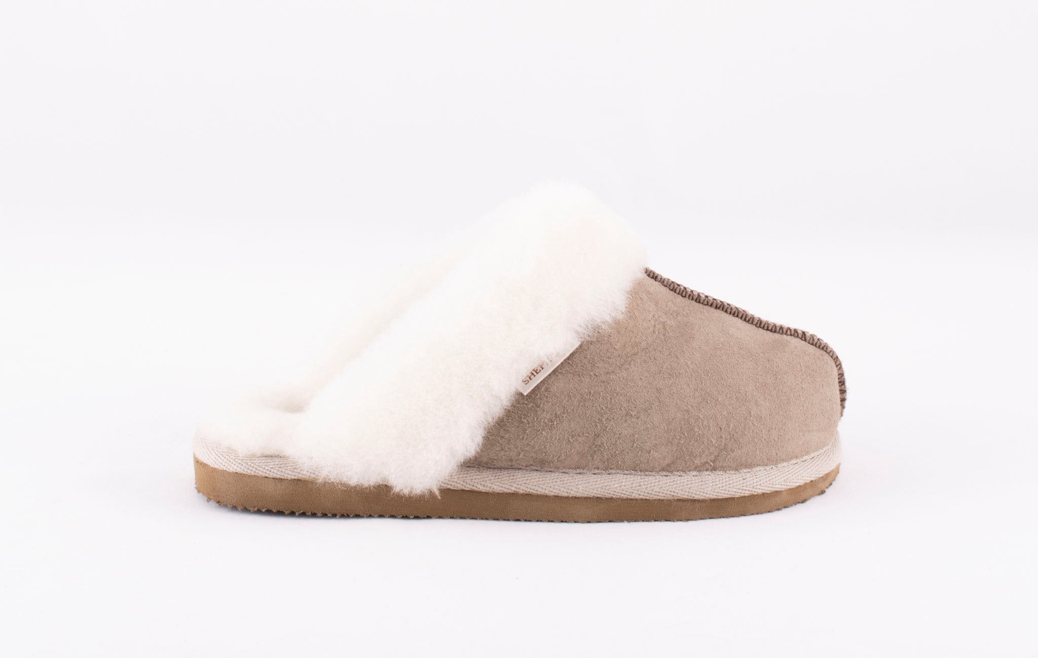 Åre, sheepskin slippers Stone