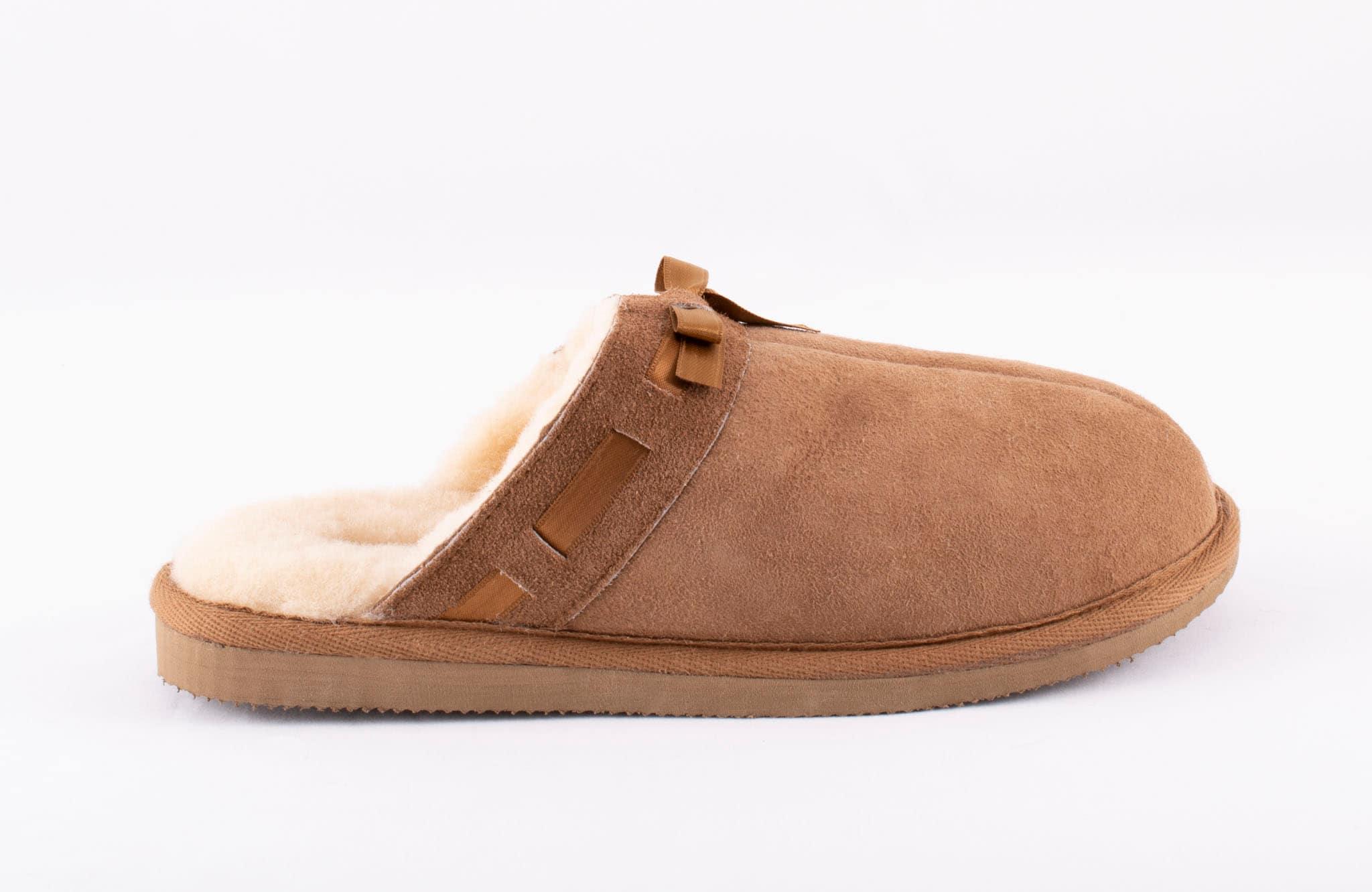 Anne sheepskin slippers Chestnut