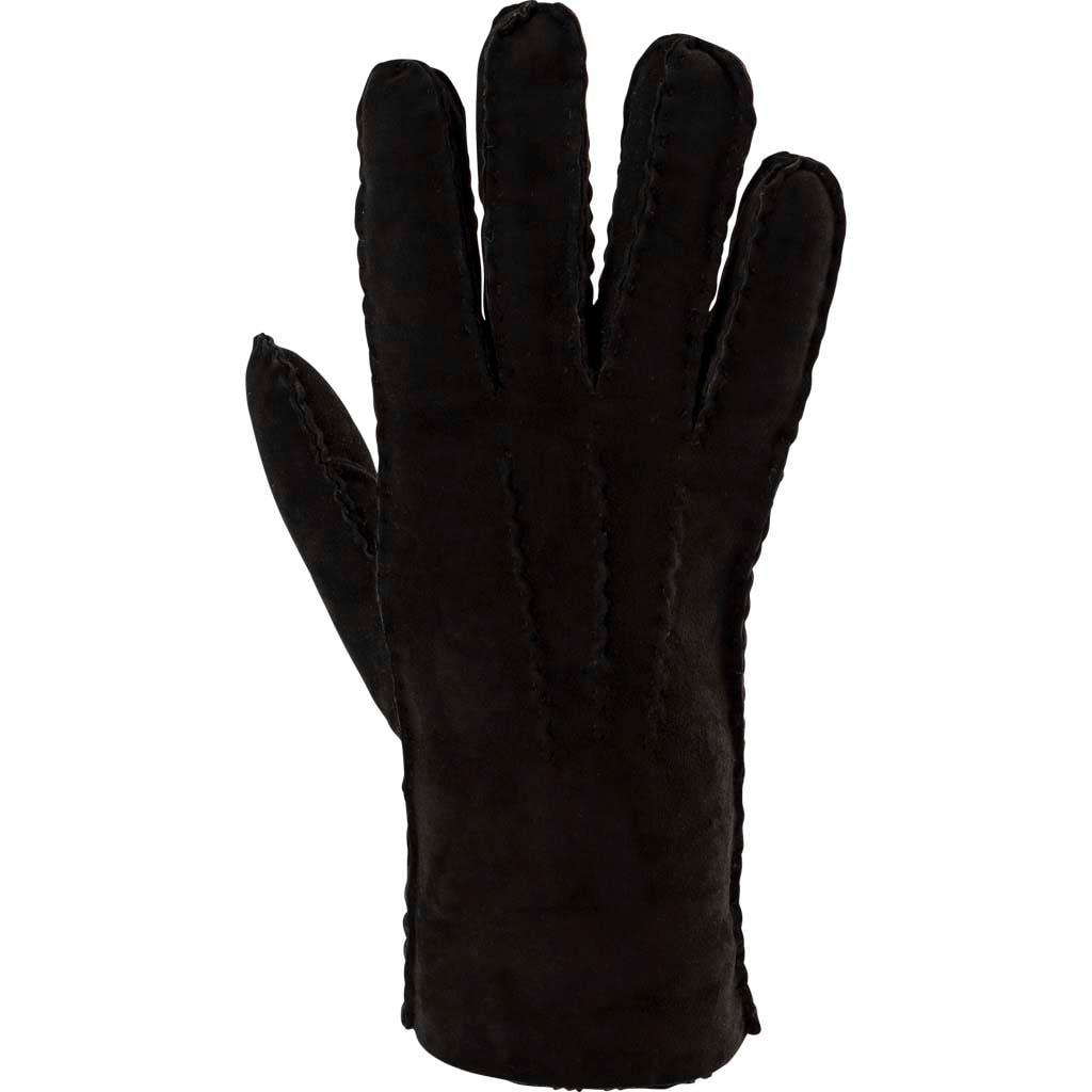Melina sheepskin gloves Black