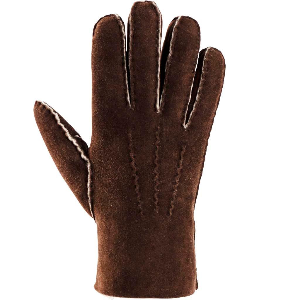 Melina sheepskin gloves Brown