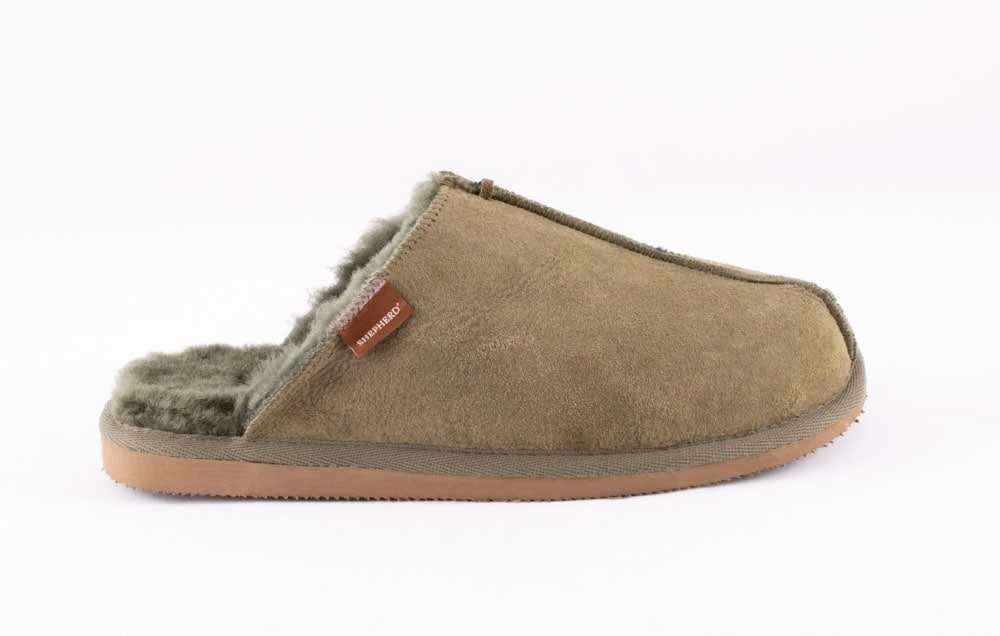 Hugo slippers Olive
