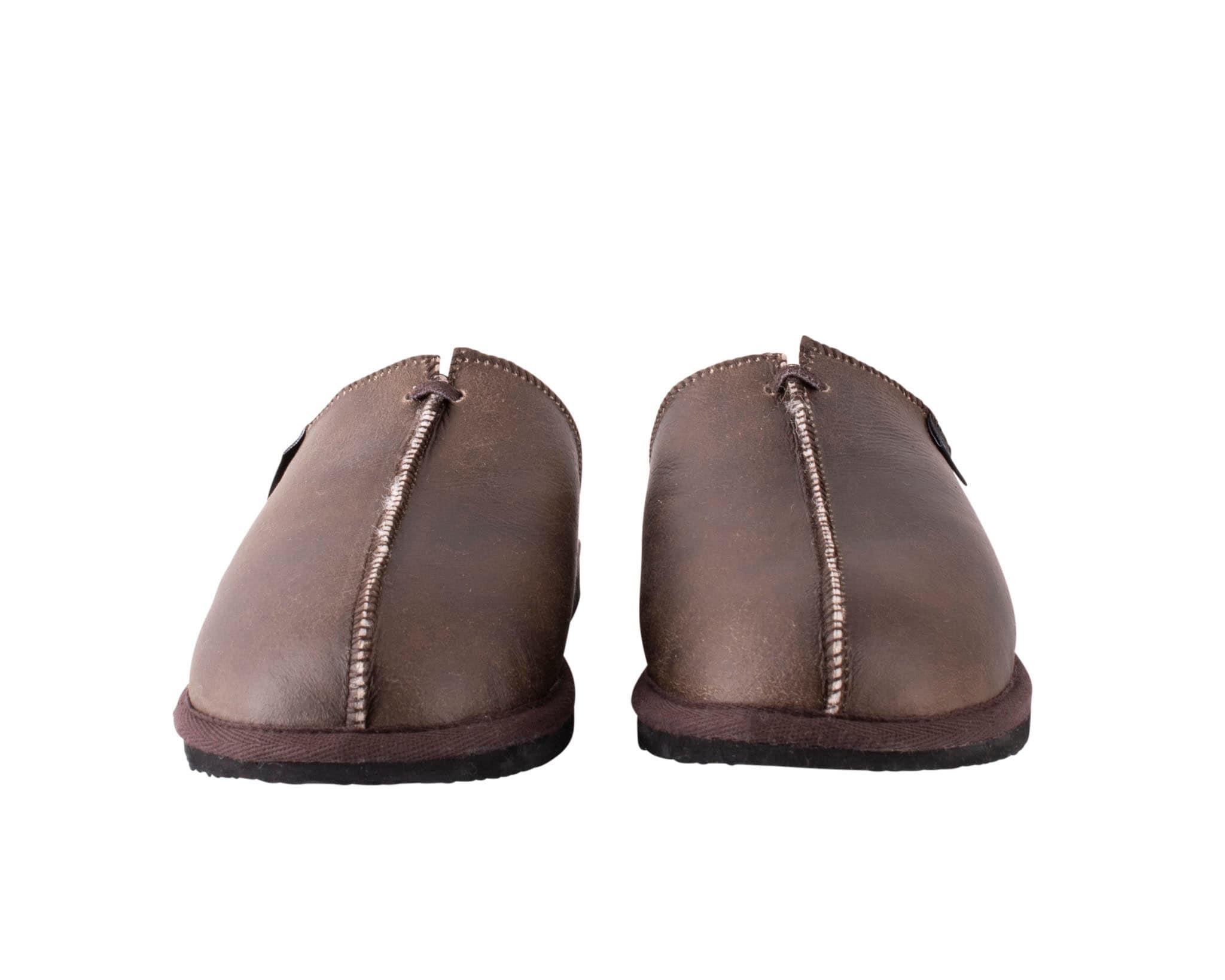 Hugo slippers Oiled antique