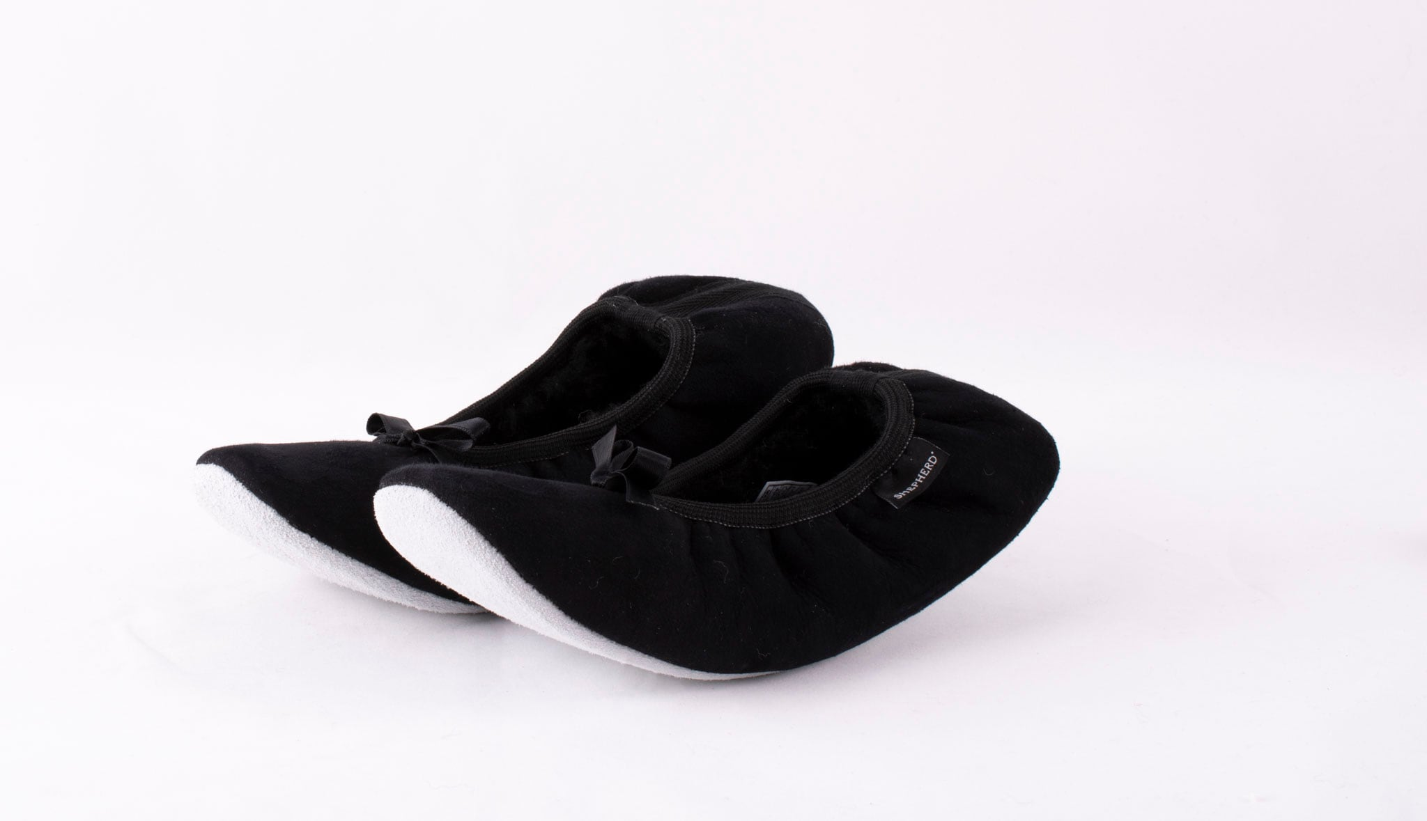 Saga ballerina slipper Black