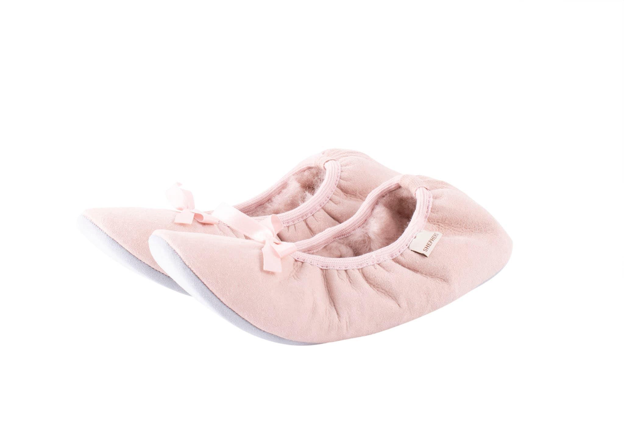 Saga ballerina slipper Pink
