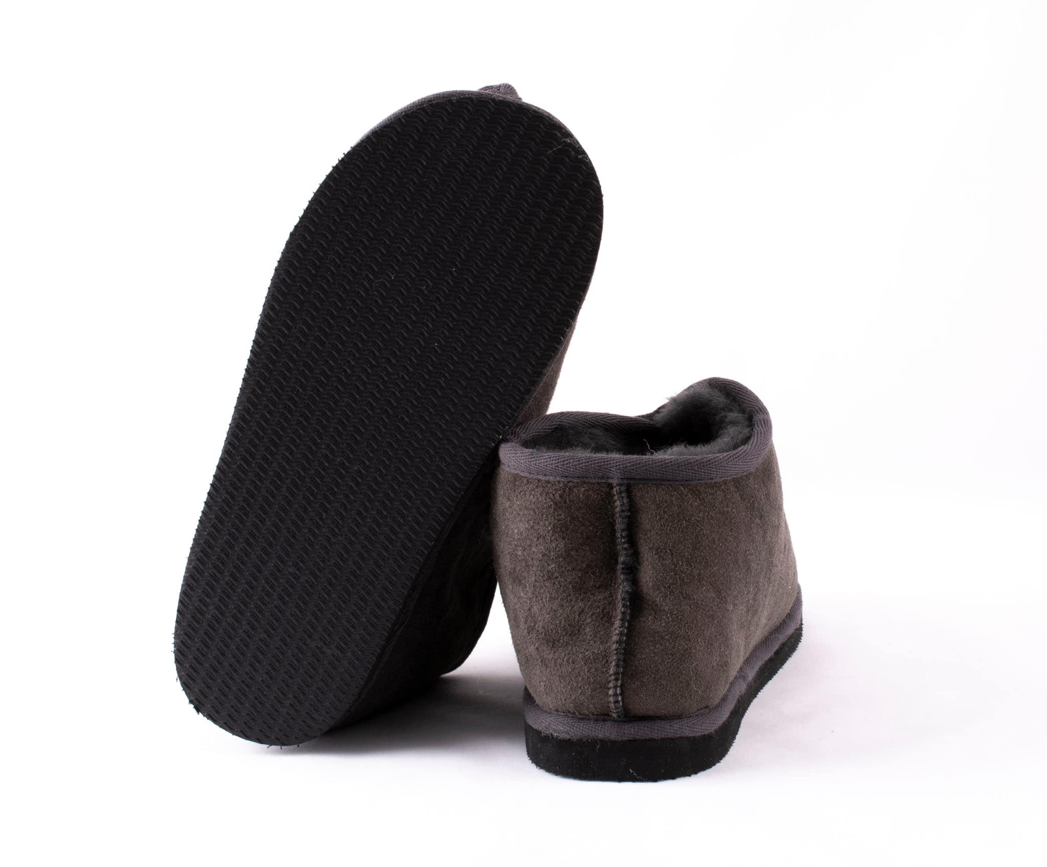 Danny sheepskin slippers Asphalt