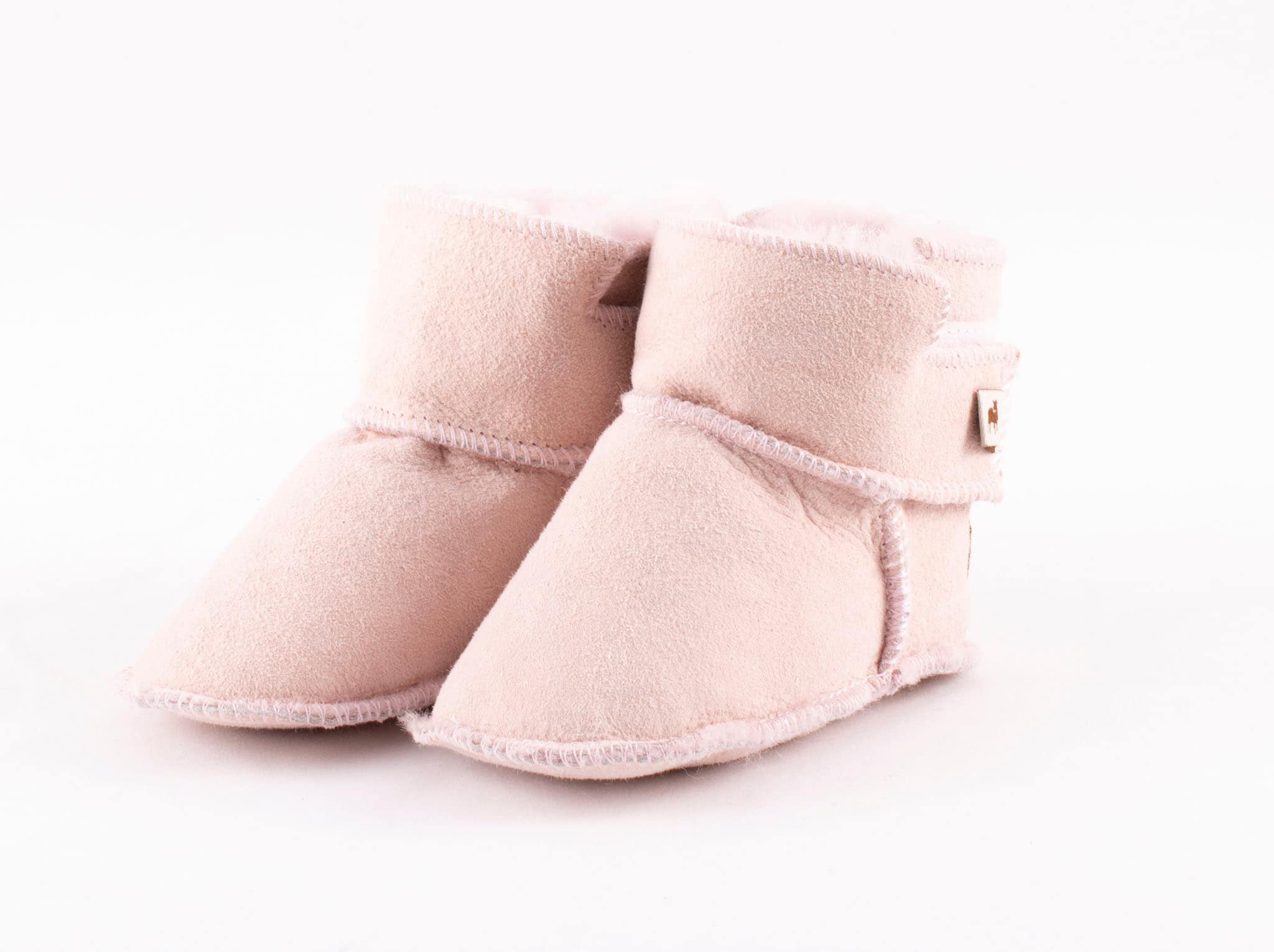 Borås baby slippers Pink