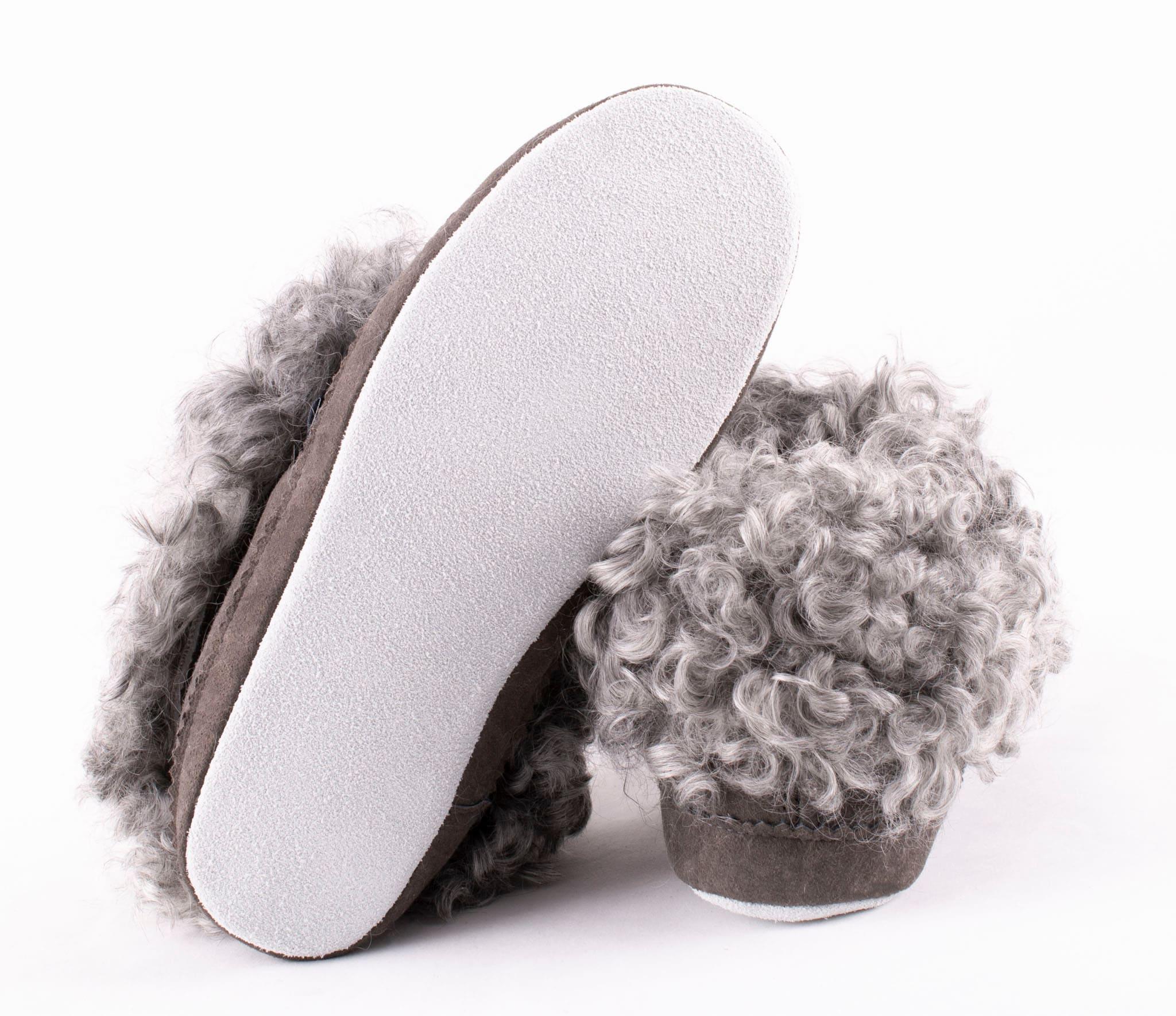 Svea, sheepskin slippers