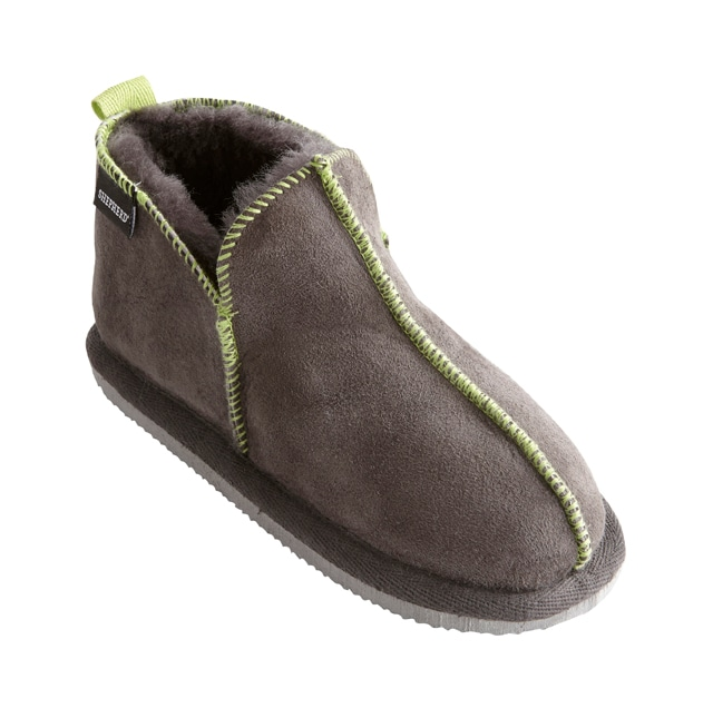 Nice slippers Asphalt/Lime