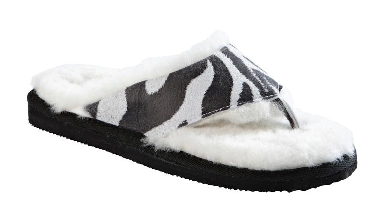Anki toffel Zebra