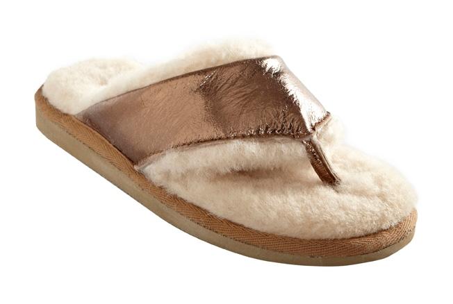 Anki slippers Gold