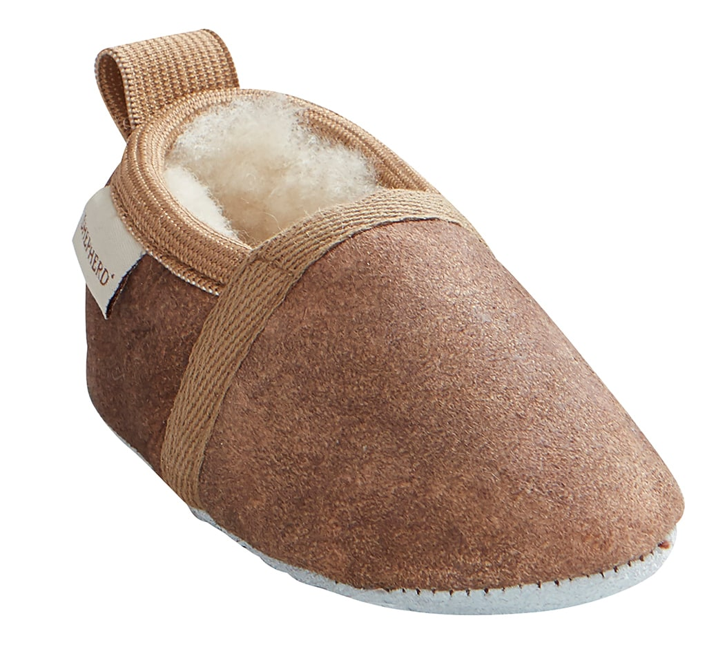 Ale baby slipper, Brown