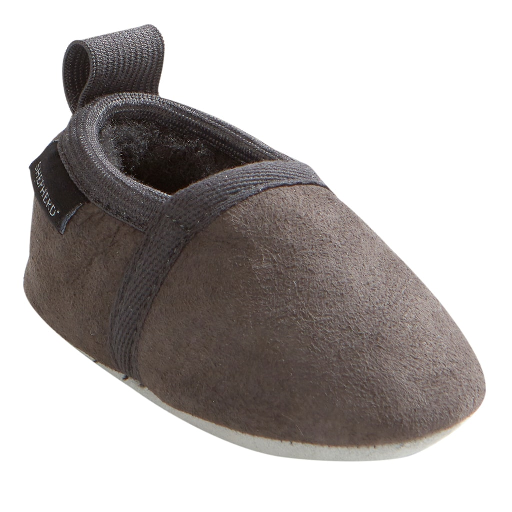 Ale baby slipper, Dark grey