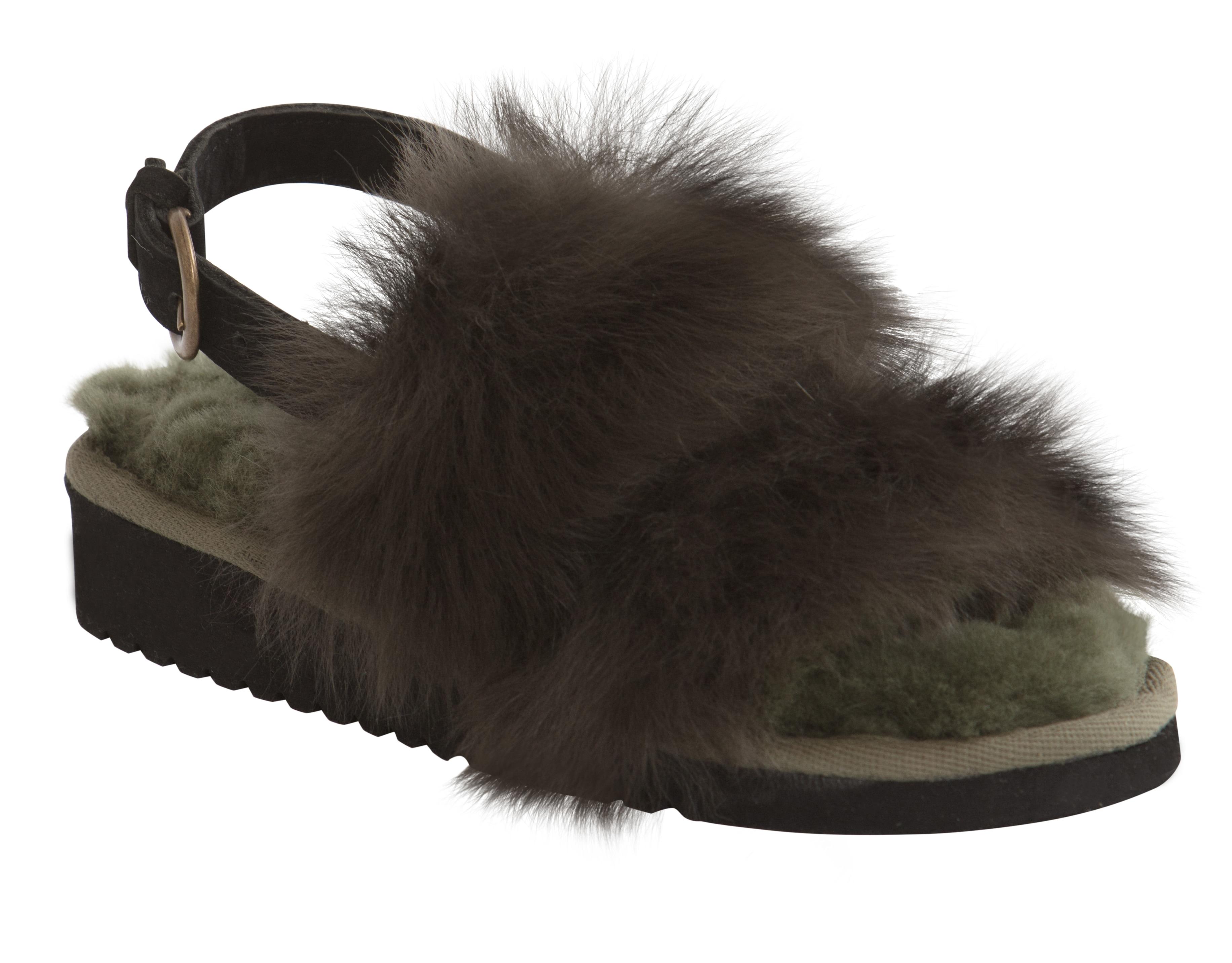 Johanna slippers Olive