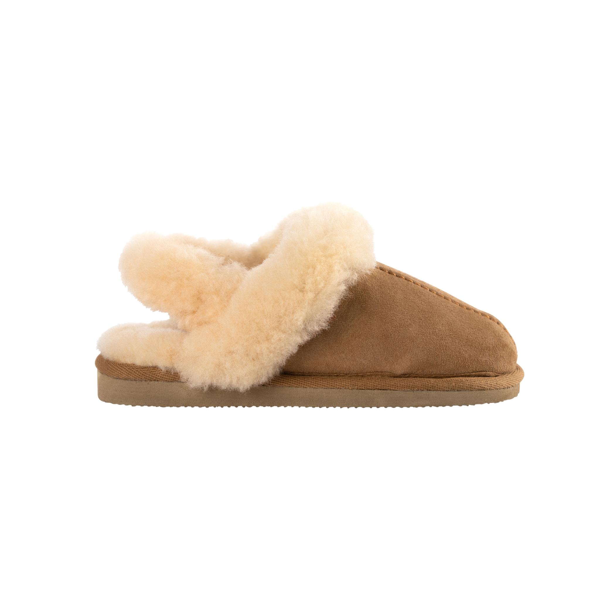 Helsingborg slippers Chestnut