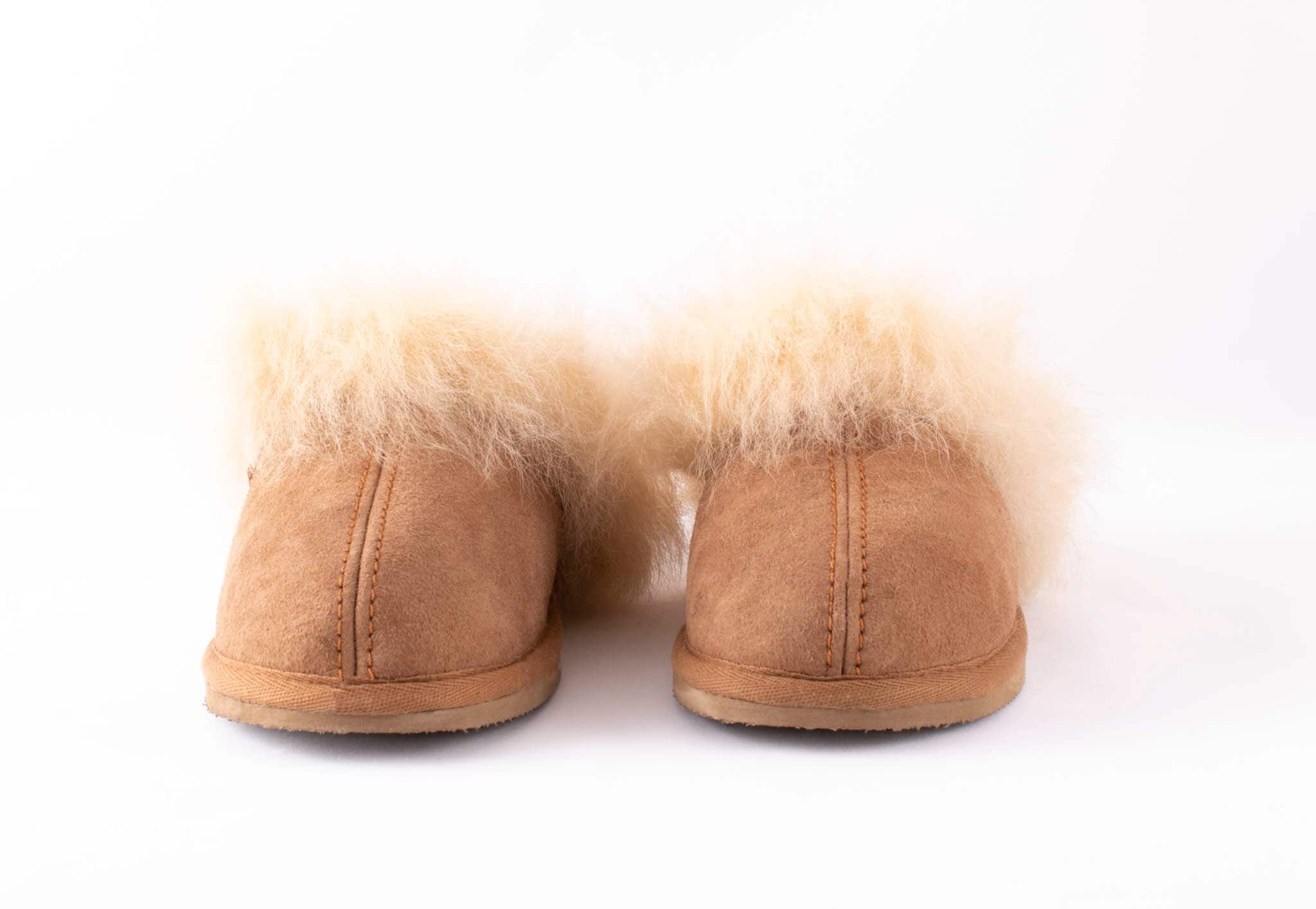 Evelina sheepskin slippers