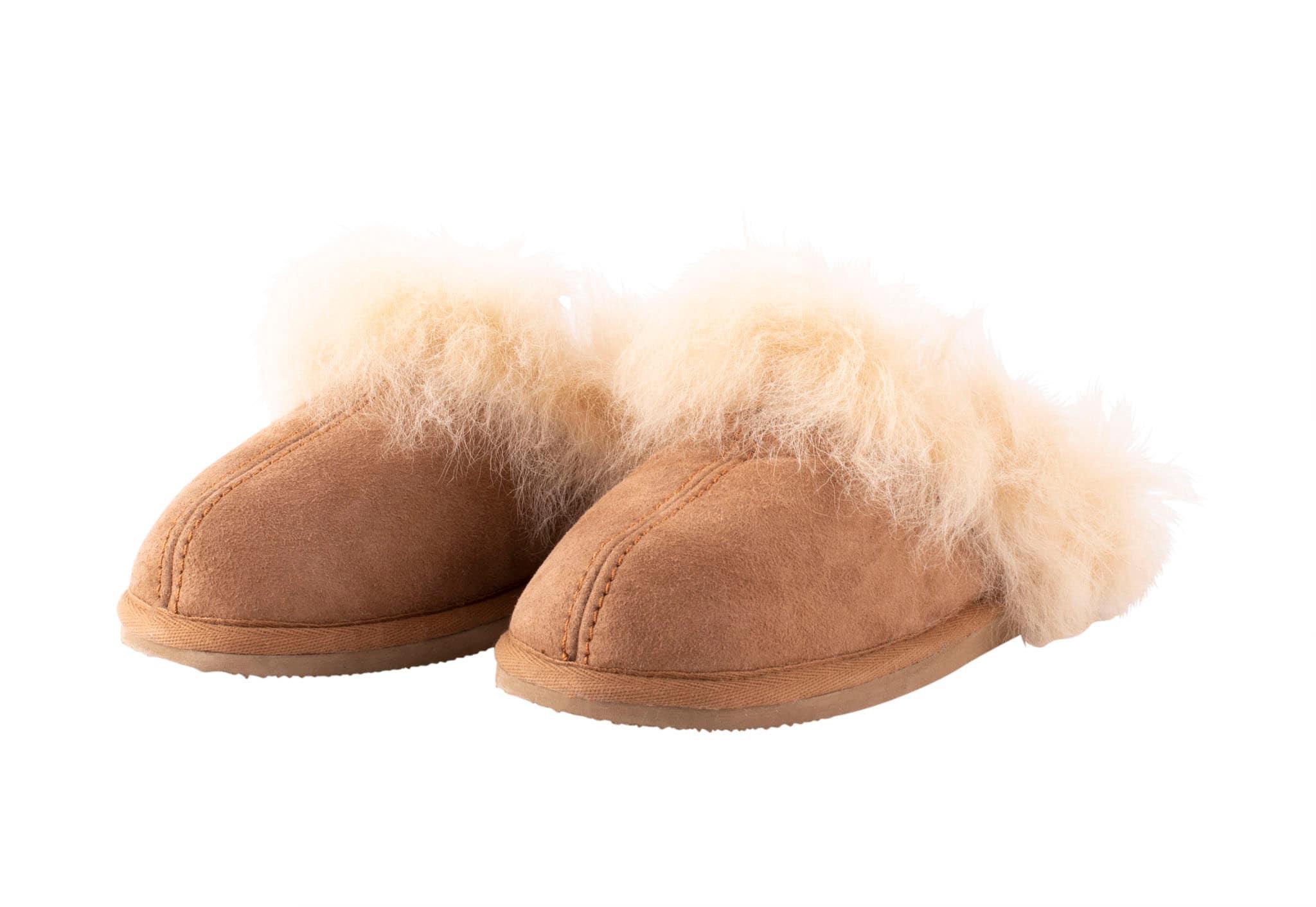 Evelina sheepskin slippers