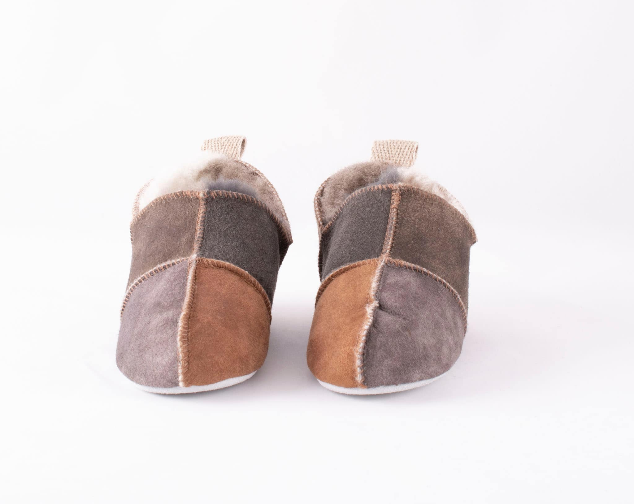 Nol slippers in patchwork Multicolored