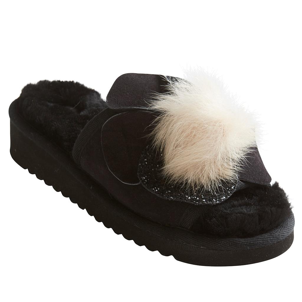 Birgitta slippers Black