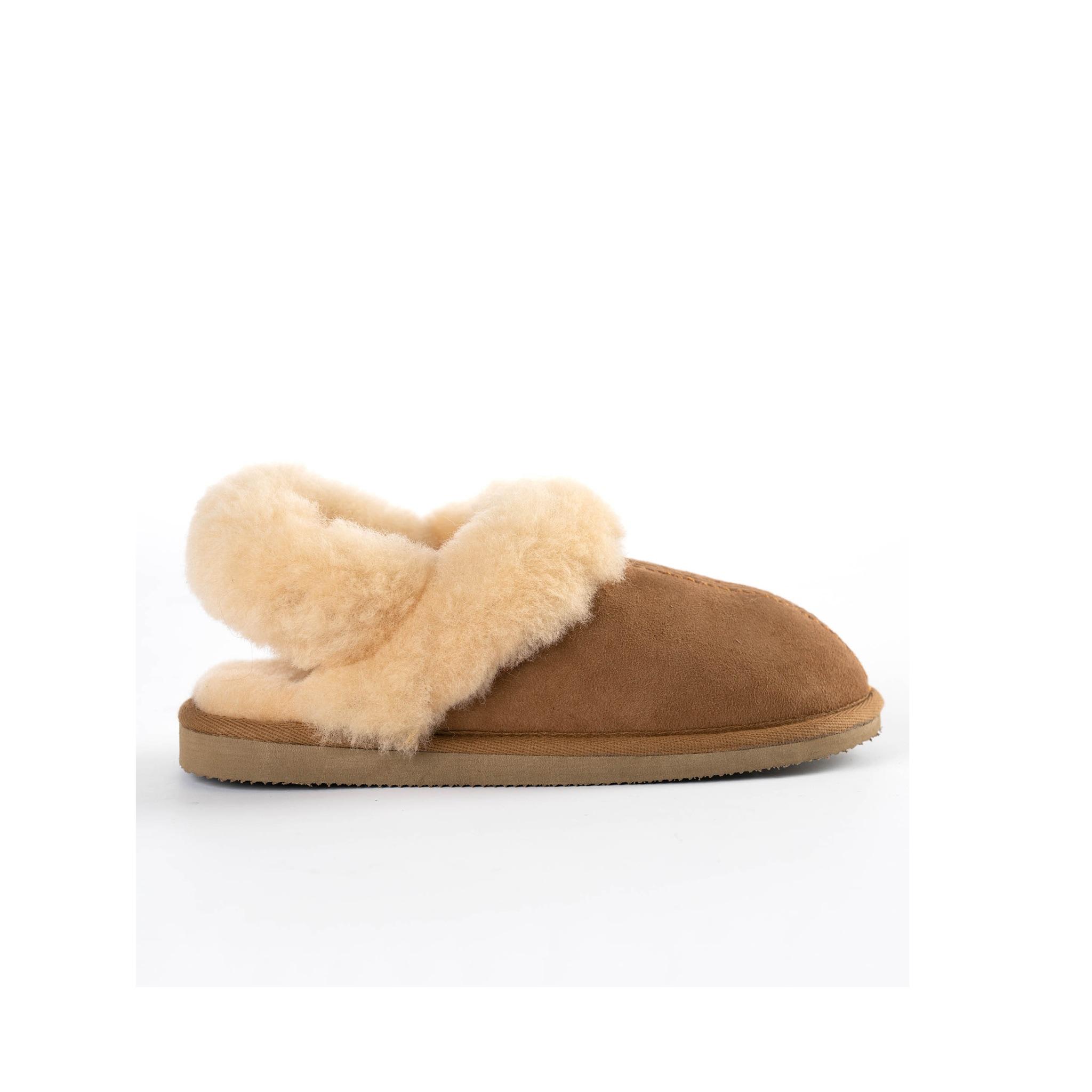 Edith sheepskin slippers