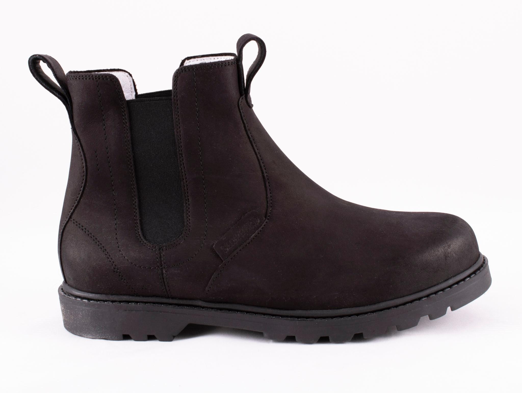 Klas, leather boots