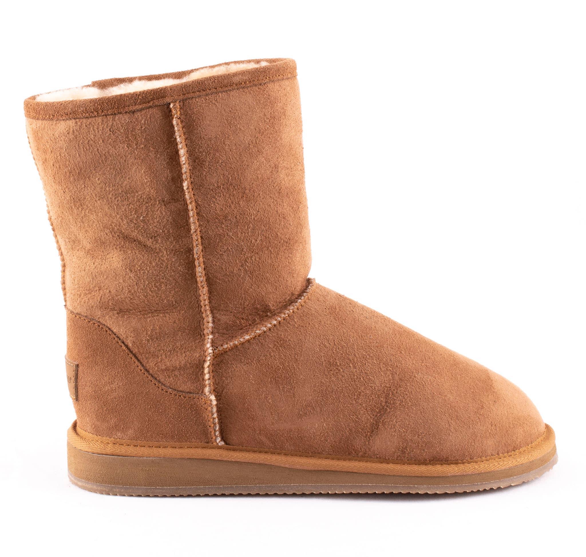 Linda, soft sheepskin boots Camel