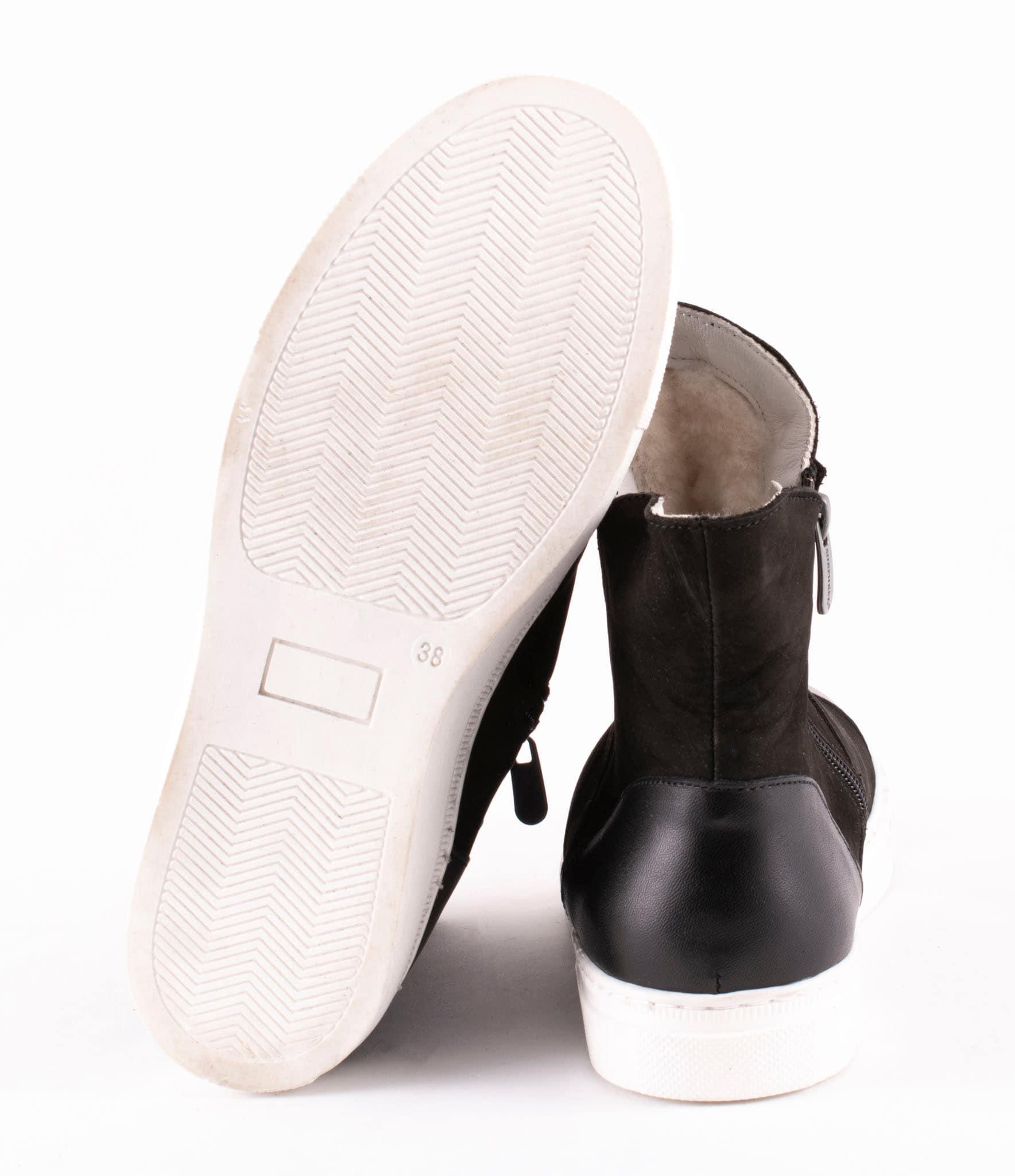 varmfodrade sneakers herr