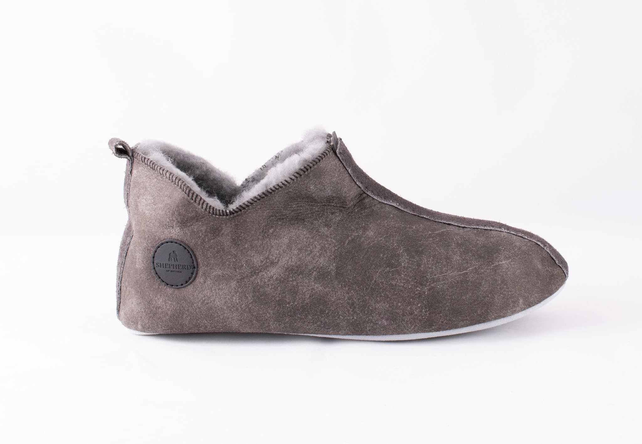 Viared slippers Antique grey