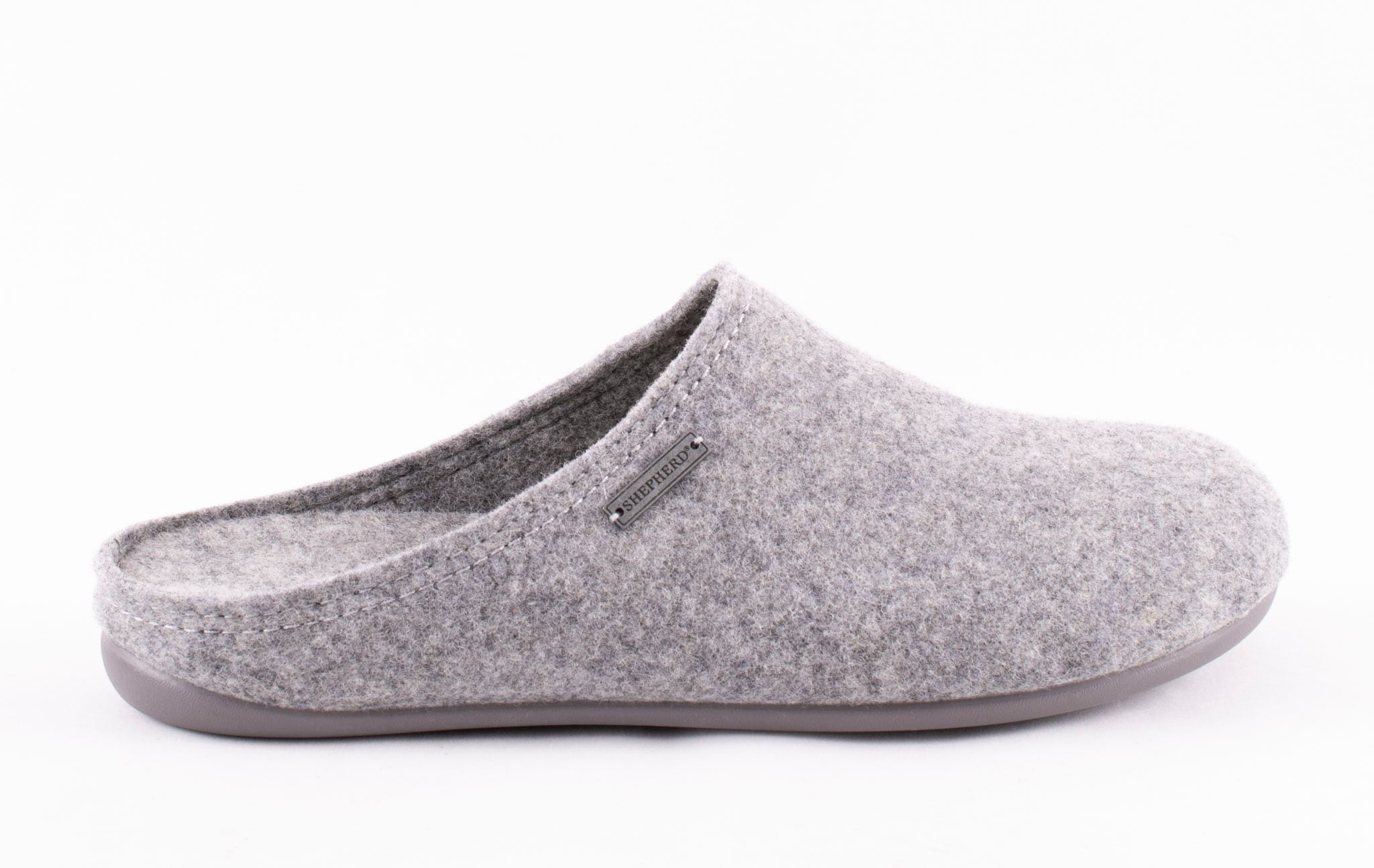 Jon, wool slippers Grey