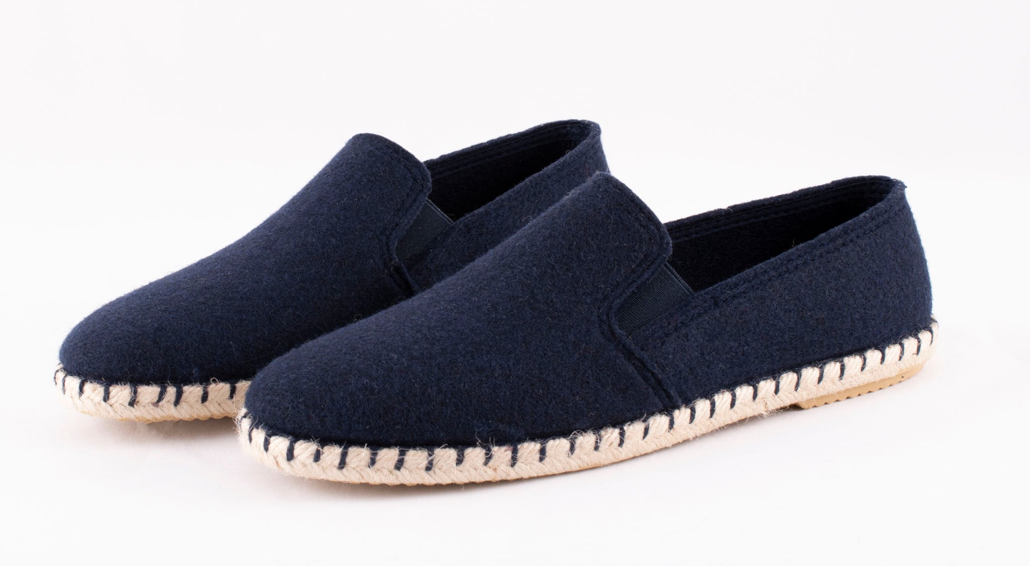 Jan espadrillos in wool Dark blue