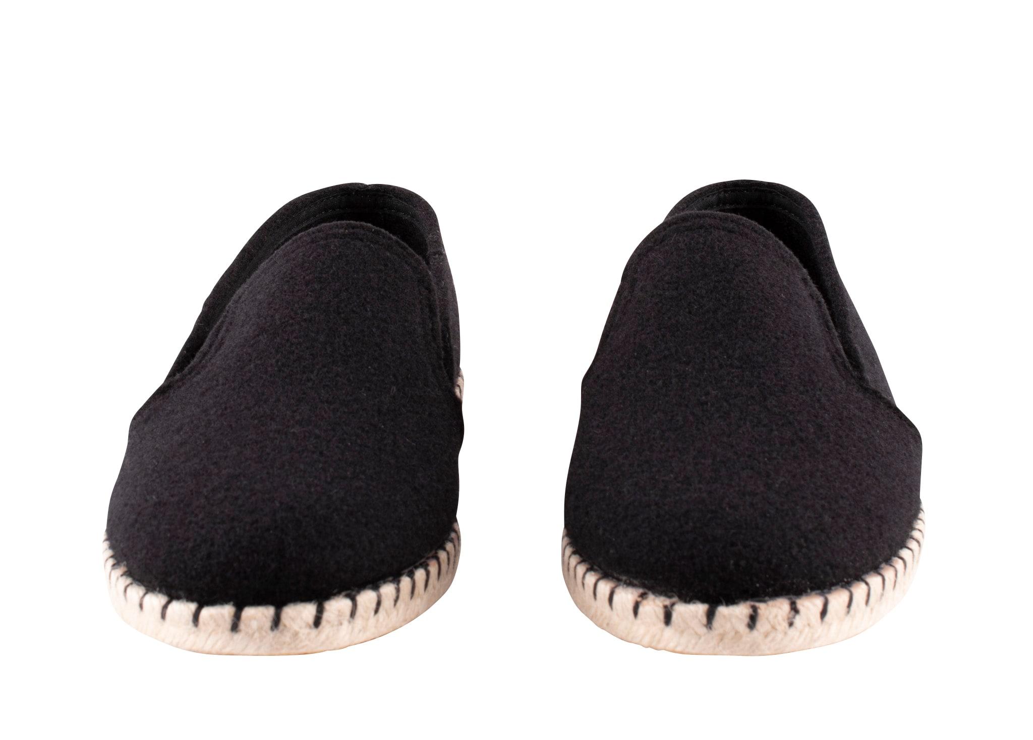 Jan espadrillos in wool Black