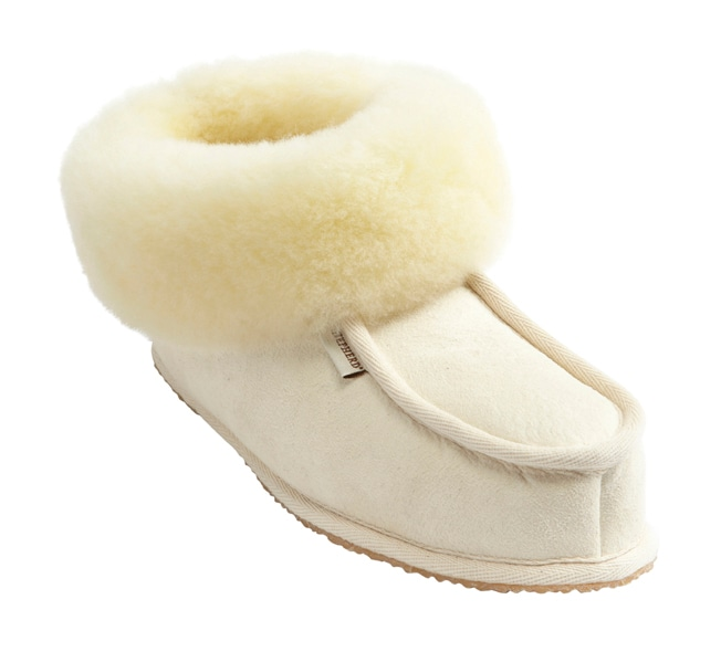 Krister toffel Natural white