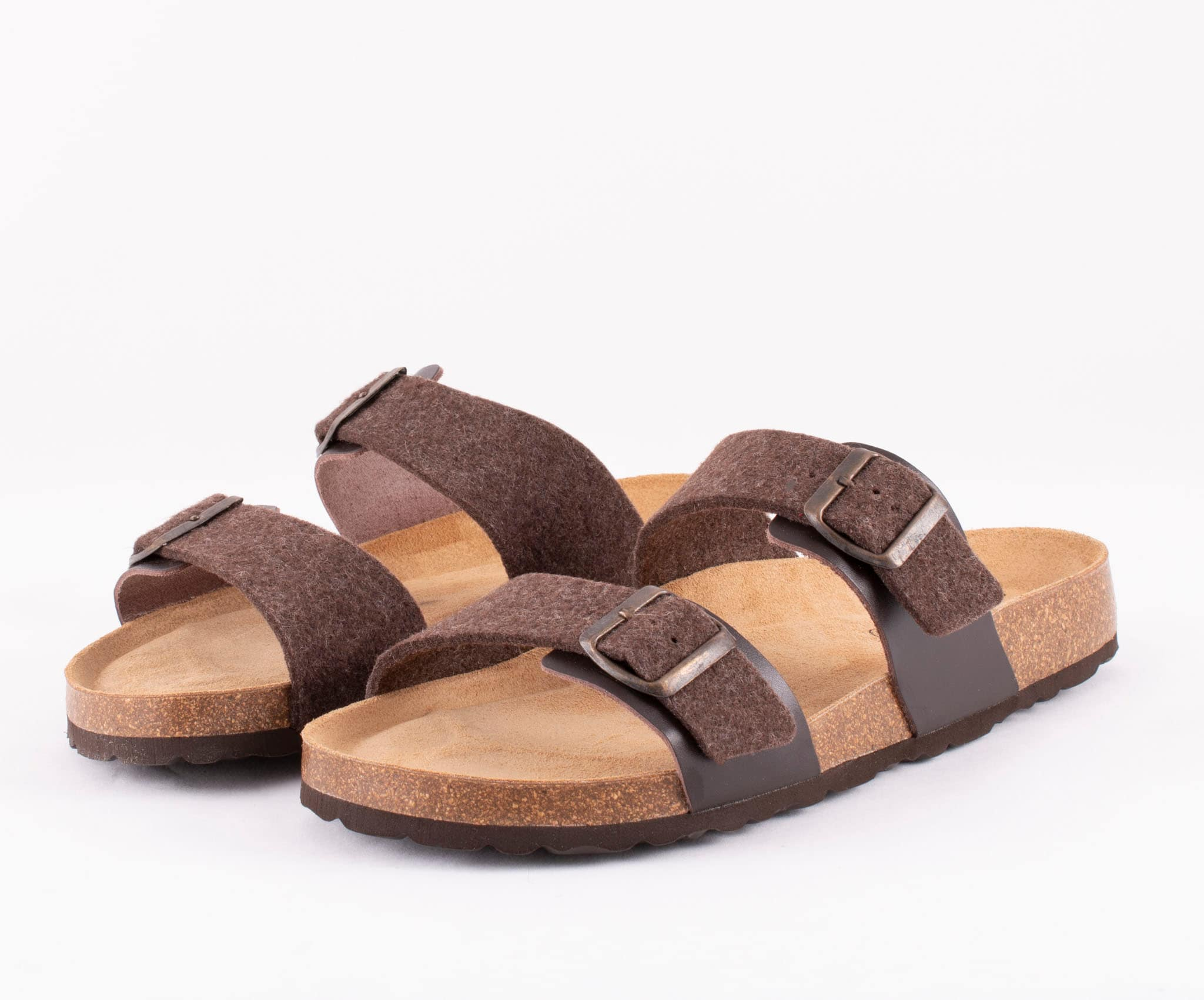 Christian sandals Dark brown