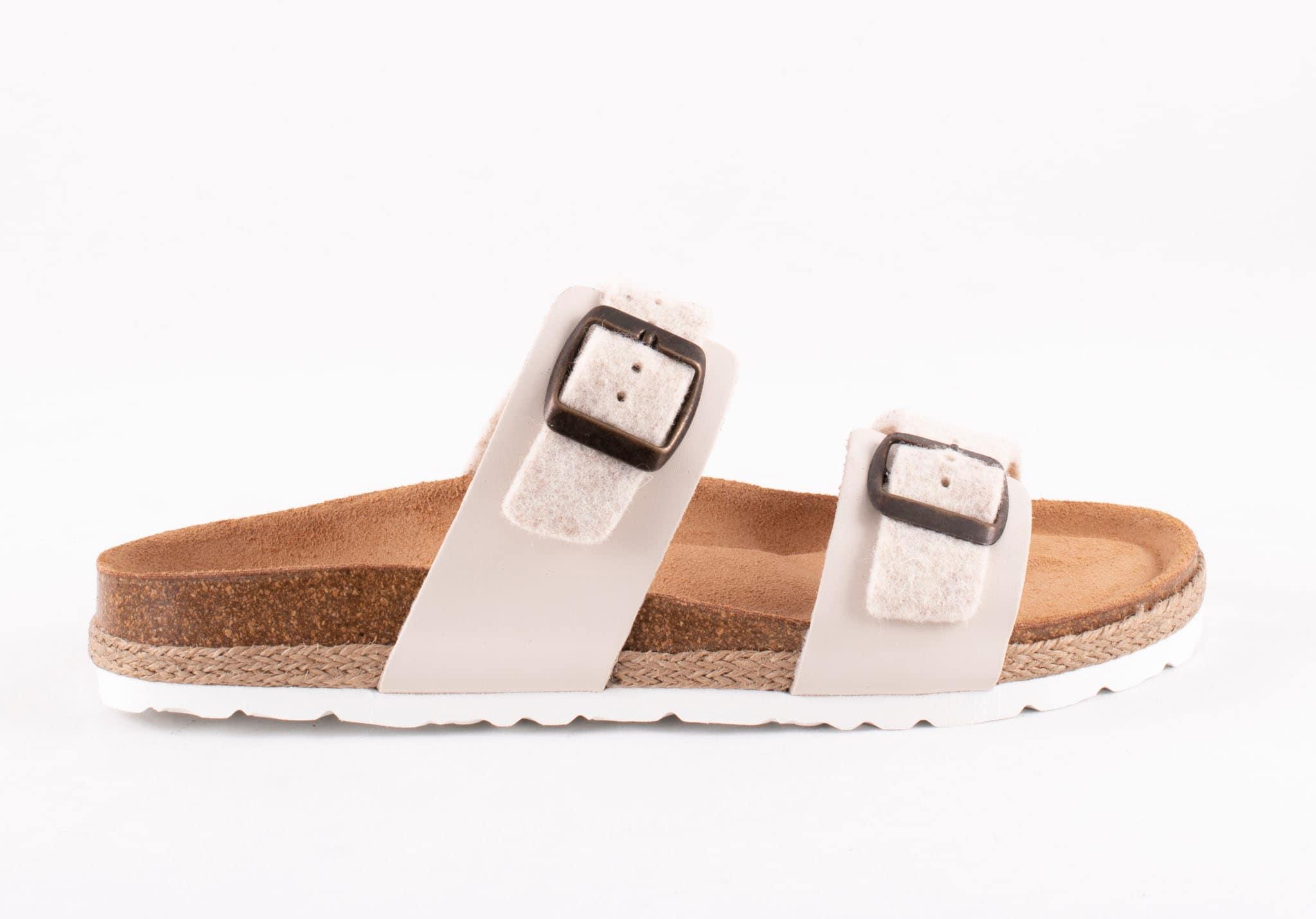 Kicki sandal Ljusbeige