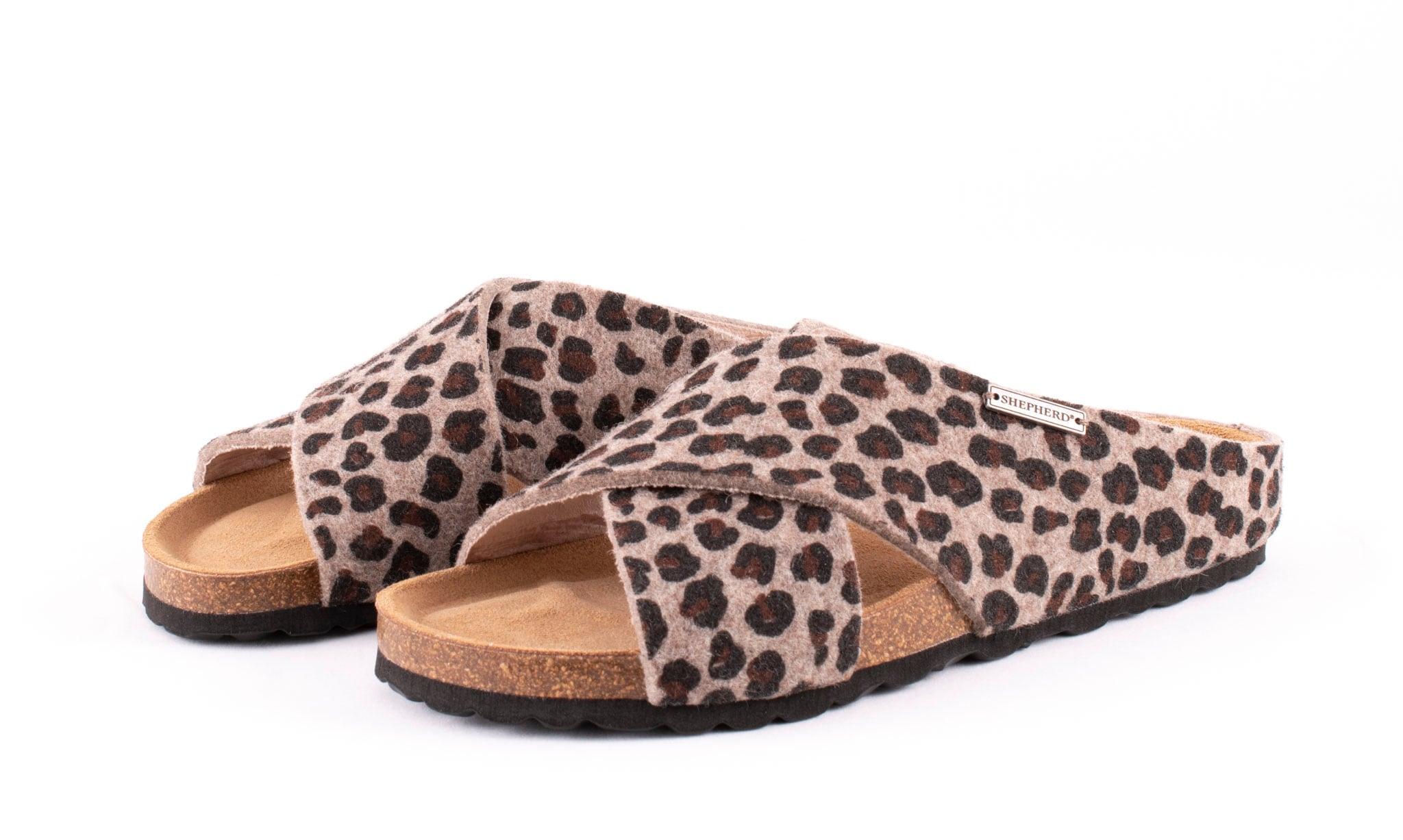 Carolina toffel Leopard