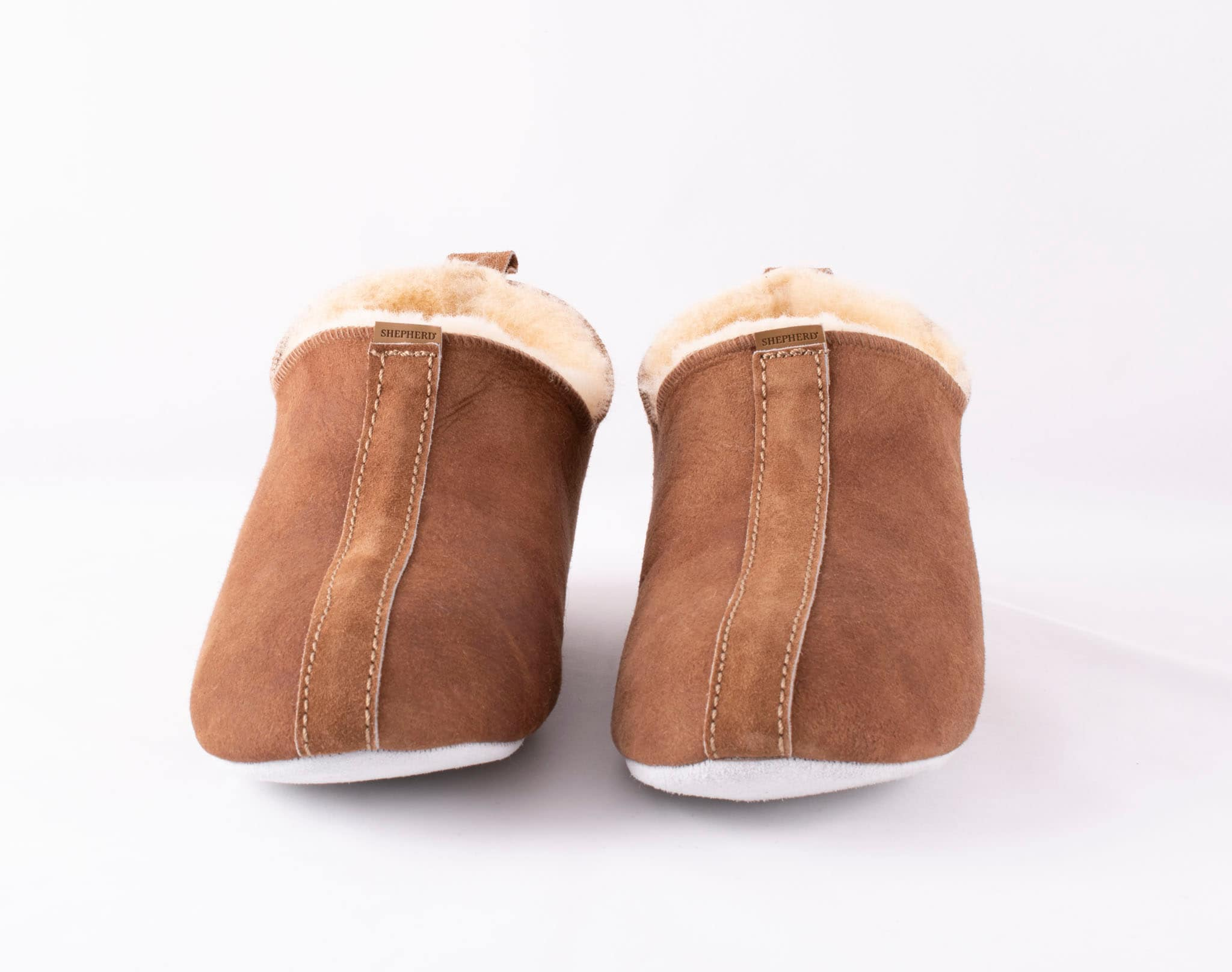 Henrik slippers Antique cognac