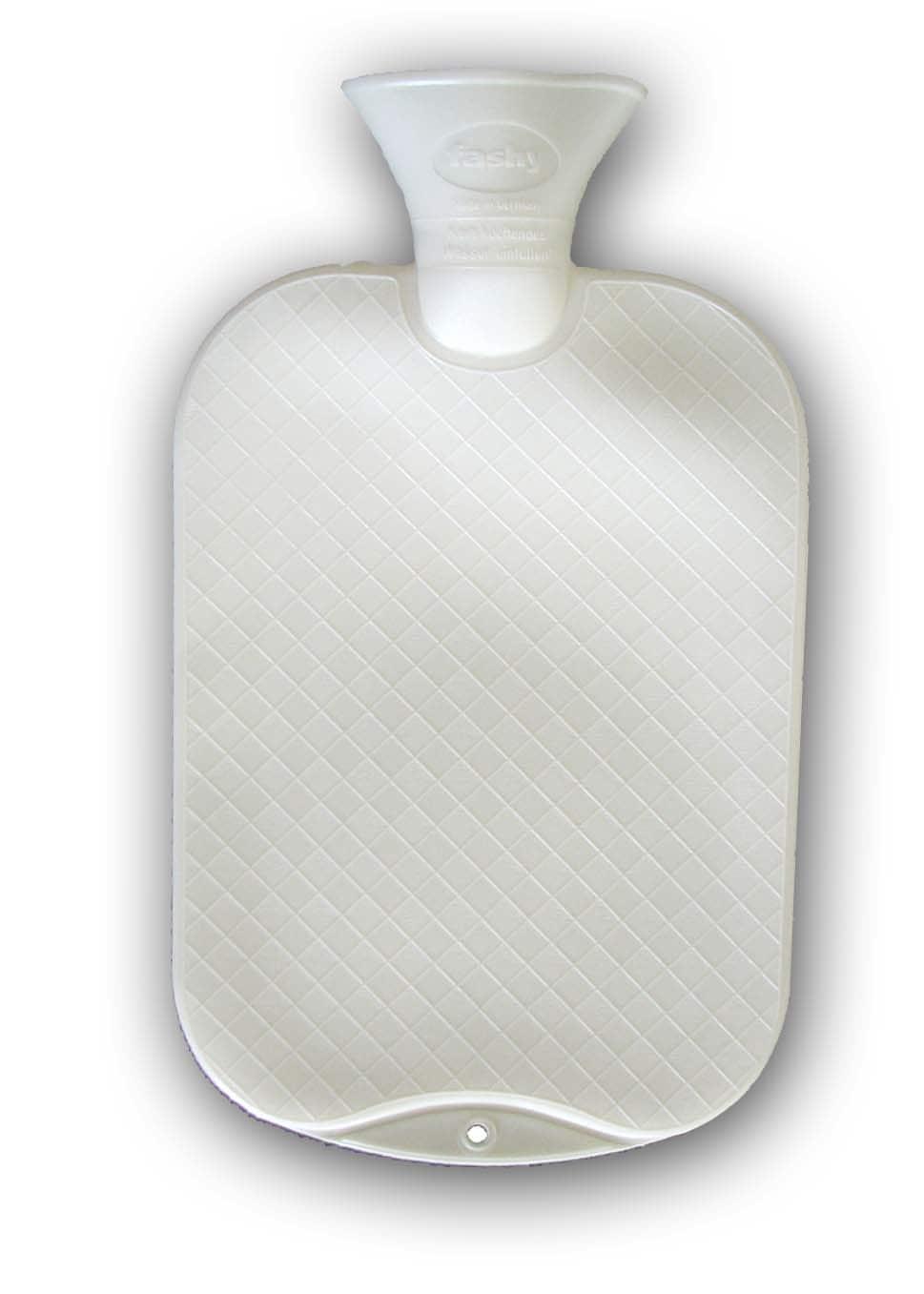 Värmeflaska i naturgummi , 2 liter