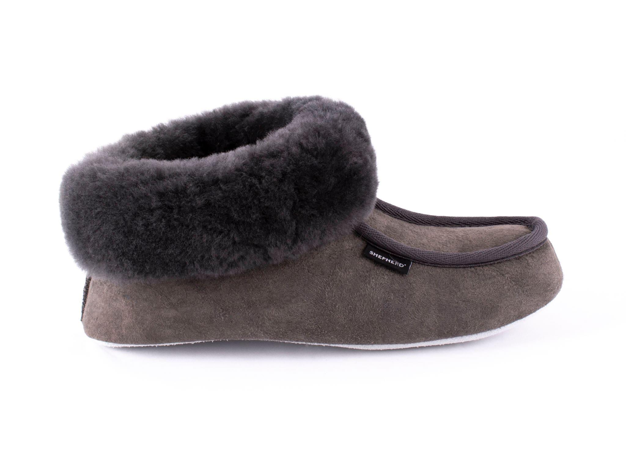 Magnus slippers Asphalt