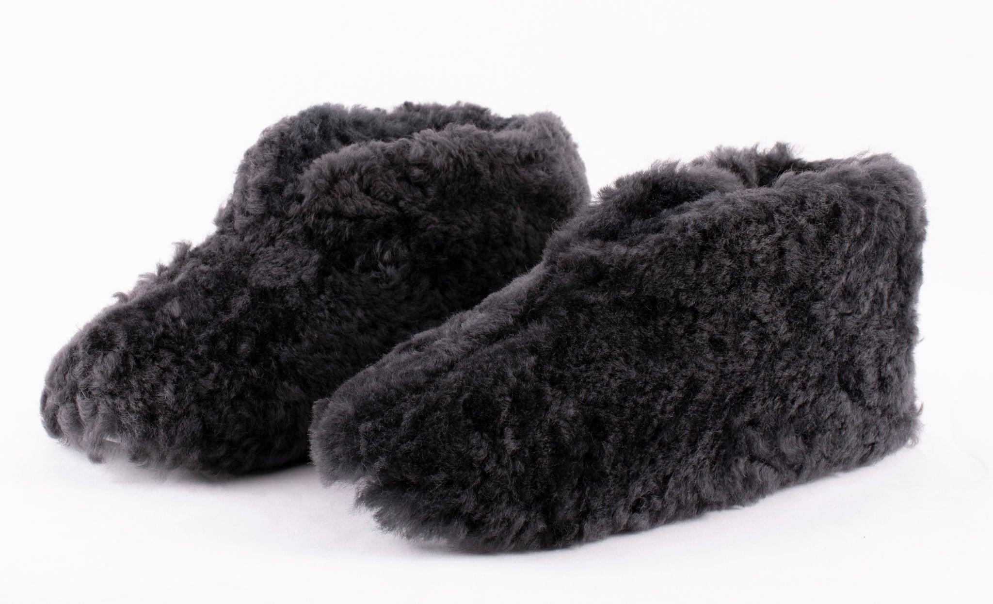 Ulla fårskinnstofflor