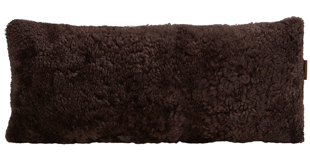Alice sheepskin cushion 60x25cm