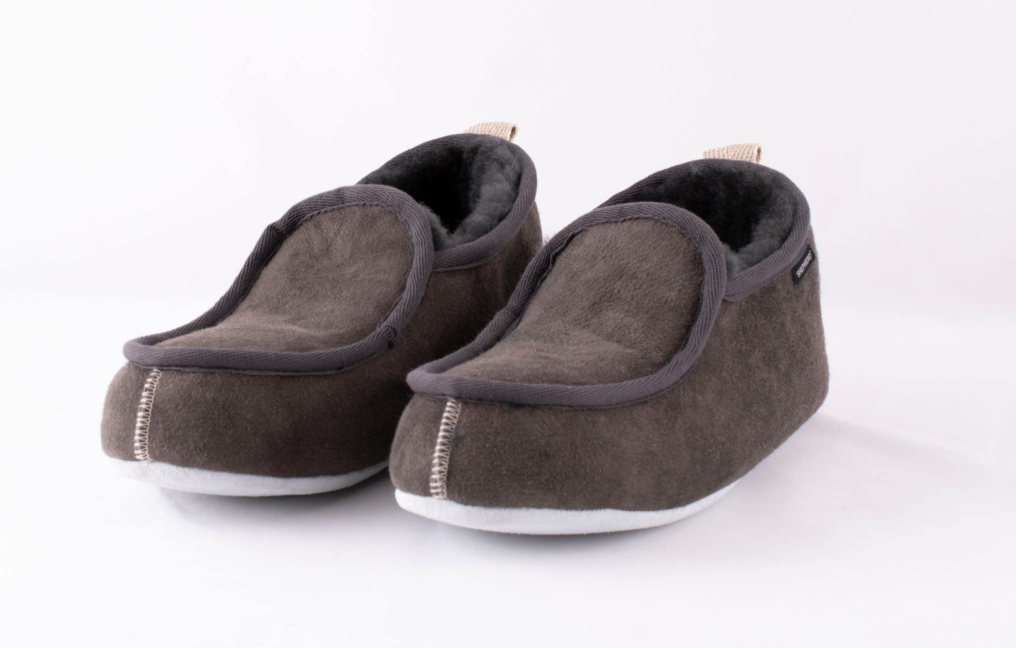 Malte slippers Shepherd asphalt