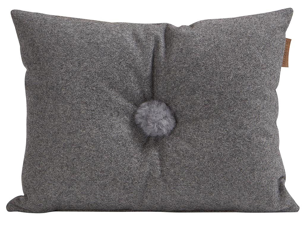 Anita wool cushion in size 40x30cm