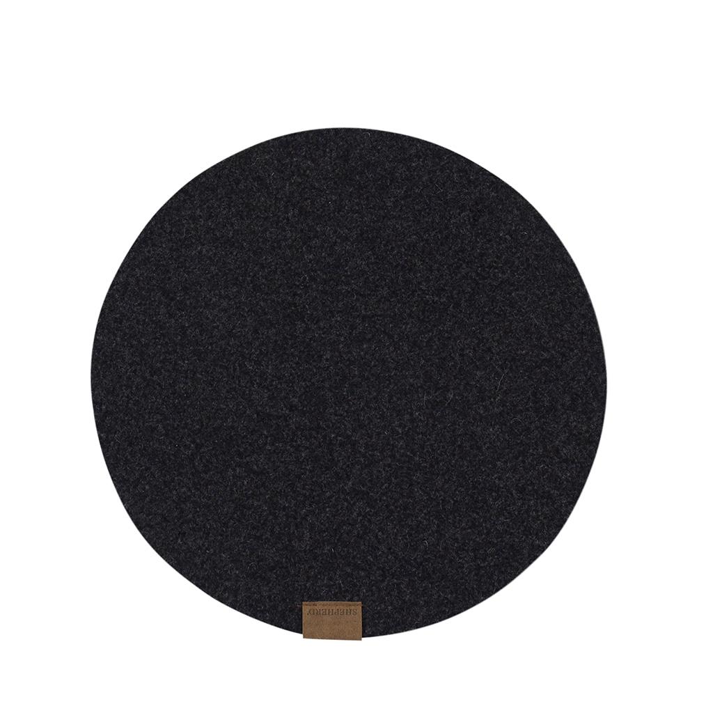 Vilma table mat in wool 36cm