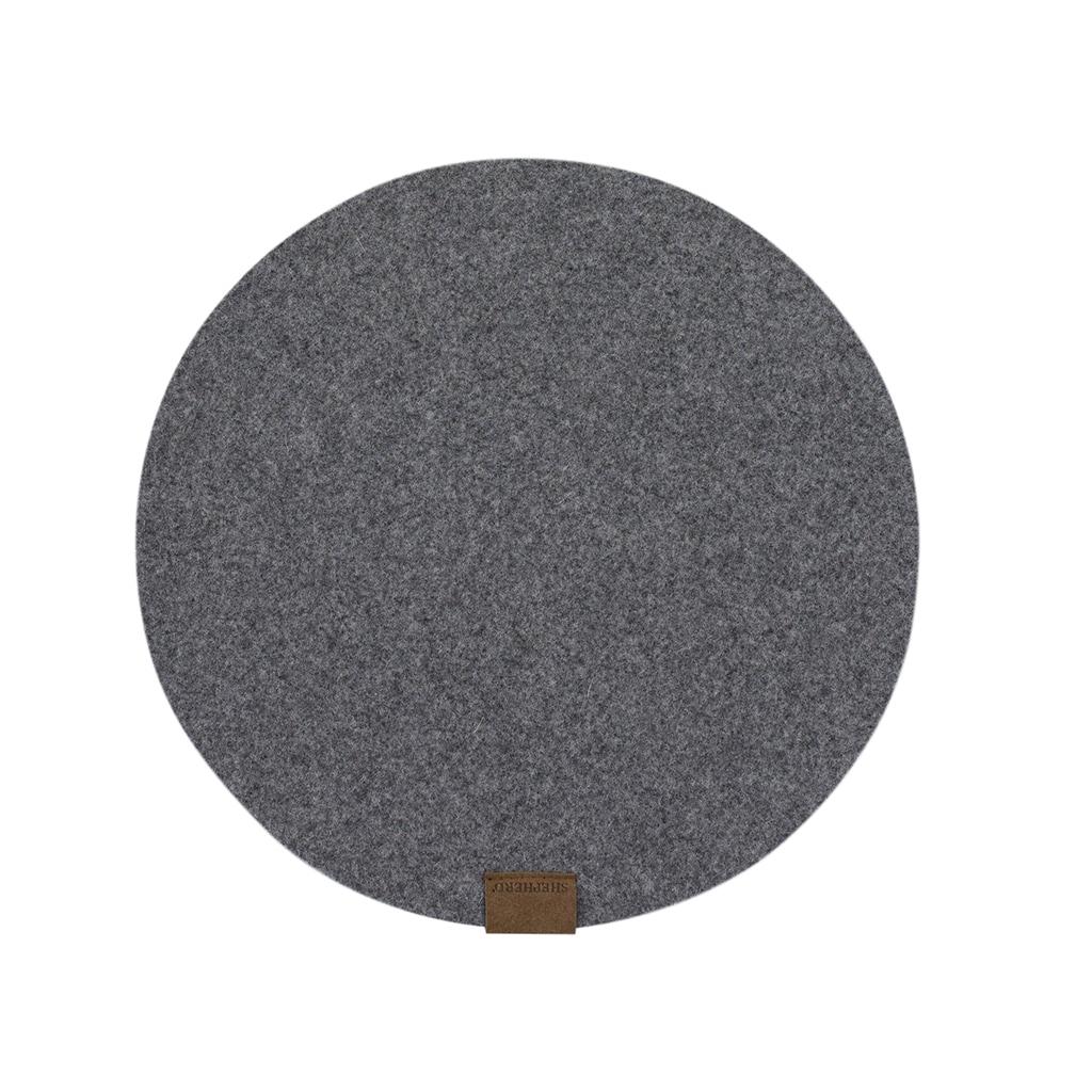 Vilma bordstablett i ull 36cm rund